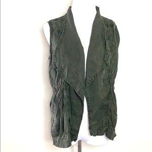 American Eagle Green Utility Vest (J36)